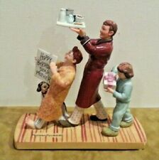 """Norman Rockwell American Family Series """"Happy Berthday, Dear Mother"""" Figurine"""