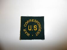 c0002 WW 2 Civilian US WAR CORRESPONDENT Patch square Ernie Pyle R10A