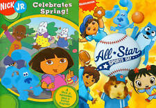 NICK JR CELEBRATES SPRING ALL STAR SPORTS DOUBLE FEATURE KIDS ANIMATED NEW DVD