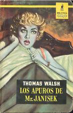 LOS APUROS DE MR JANISEK THOMAS WALSH BIBLIOTECA ORO MOLINO 1960   TC11982 A6C2