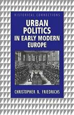 Urban Politics in Early Modern Europe-ExLibrary