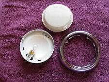 1956 56 1957 57 CHEVROLET CHEVY BELAIR 210 150  DOME LIGHT ASSEMBLY W IVORY LENS