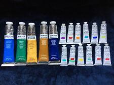 Winsor&Newton Lot, 5 Winton Oil Colours(200ml) & 12 Artists Oil Colour (37ml)