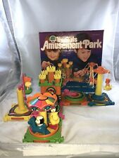 1976 Tree Tots Playset Amusement Park Toy Complete in Original Box Kenner Toys