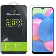 [2-Pack] Dmax Armor Tempered Glass Screen Protector for Samsung Galaxy A30s
