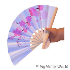 Asian Fan Fits American Girl Ivy - Accessories For 18 Inch Chinese Japanese Doll