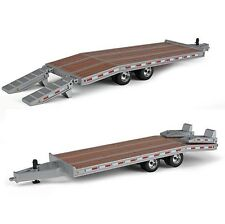 NEW 2016 *FIRST GEAR* 1:50 BEAVERTAIL TRAILER *SILVER* Diecast *NIB!*