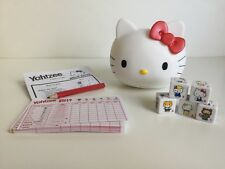 SANRIO HELLO KITTY YAHTZEE COLLECTOR EDITION COMPLETE SET PRE OWNED CHINA 2010