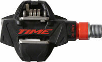 "Time ATAC XC 8 Pedals - Dual Sided Clipless Carbon 9/16"" Black/Red"