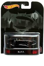 2017 Retro Hot Wheels Knight Rider K.I.T.T. on BATMAN VS SUPERMAN PKG ERROR