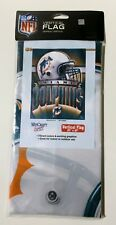 Miami DOLPHINS NFL Football Vertical Banner Flag by Wincraft