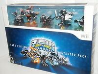 Skylanders SWAP Force - Exclusive DARK EDITION Nintendo Wii LIMITED RARE NEW