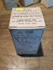 Vintage Label-Matic Brand Labels for Label-Matic Model 45 Mb1035-F9
