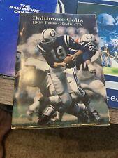 1968 Baltimore Colts Press Radio TV Media Guide-Johnny Unitas