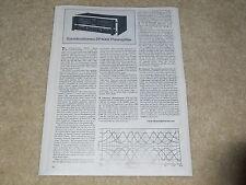 Soundcraftsmen Sp4002 Preamplificador Revisión, 1 Página, Características,