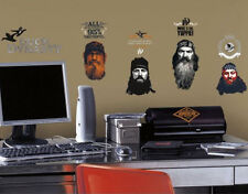 DUCK DYNASTY wall stickers 34 decals Phil Si Willie Jase decor quotes Rednecks