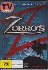 ZORRO'S FIGHTING LEGION VOLUME ONE - DVD - NEW