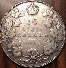 1902 CANADA SILVER 50 FIFTY CENTS IN GREAT CONDITION !!