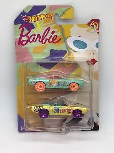 Barbie 60th Design Competion Hot Wheels 69 Camaro Employee  NFS Bad Card