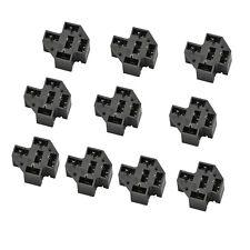 10 Kfz PCB Relais Sockel 40A 5-Pol Stecker PC Relaissockel Micro Terminals SPDT