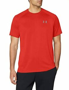 Under Armour Men's Tech 2.0 Short-Sleeve T-Shirt  (Red (600)/Graphite, L)