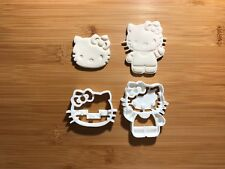 2 pcs Hello Kitty 004 Cookie Cutter Sugarcraft Fondant Cake Decoration