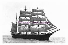 rs0120 - Finnish Sailing Ship - Winterhude , built 1898 - photograph