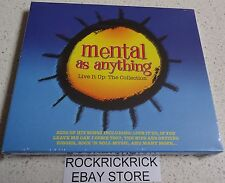 MENTAL AS ANYTHING - LIVE IT UP: THE COLLECTION -2 CD SET 35 TRACKS- (BRAND NEW)