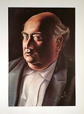 SALVADOR DALI HAND SIGNED *PORTRAIT OF THE ARTIST'S FATHER*  COLORPLATE W/C.O.A.