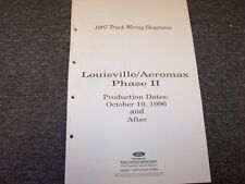 1997 ford louisville aeromax phase ii truck electrical wiring diagram manual