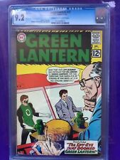 GREEN LANTERN #17 CGC NM- 9.2; CM-OW; Kane cover/art!