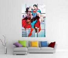 Superman Y Lois Lane Dc Gigante De Pared Art Print Cartel H258