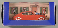 Tintin Herge voiture 26 Lancia Aurelia italien Affaire Tournesol atlas 1/43