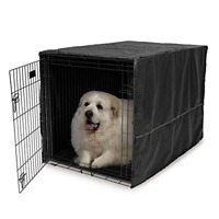 MidWest Dog Crate Cover, Privacy Dog Crate Cover Fits MidWest Dog Crates, Wash &