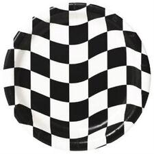Checkered Flag Dinner Plates