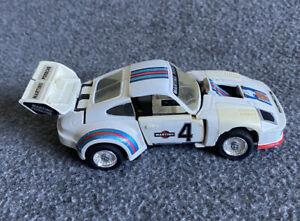 Vintage 1980 84 TAKARA Japan - Martinii Porsche 935 TRANSFORMER Martini DIECAST