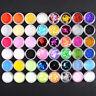 48 Mix Color Set Nail Art Glitter Powder UV Gel Nail Decoration Builder Kit Set