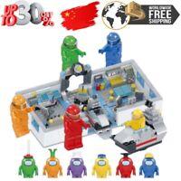 8pcs/set Among US game model minifigure building blocks action figures toys kid