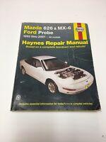 Haynes 61042 1993 to 2001 Mazda 626 & MX-6 / Ford Probe SHOP Repair Manual