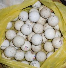 Mixed Lot Of 75 Pre-Owned Practice Golf Balls-Top-Flite-Maxfli-Pr ecept-Nike.