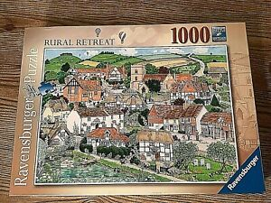 Ravensburger Rural Retreat 1000 Piece Jigsaw Puzzle 15165 Village