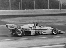 Jean-Pierre Jarier. Penske PC4. French GP 1977. Vintage F1 photo. L590