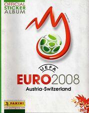 Panini EM 2008 10 Sticker aus fast allen aussuchen / choose Uefa Euro 08 !
