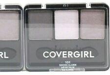1 Ct Covergirl 0.14 Oz 101 Smoke Alarm Eye Enhancers 3 Palette Blendable Shadow