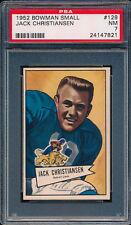 1952 Bowman Small #129 Jack Christiansen RC PSA 7 (FB01)