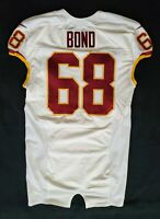 #60 Al Bond of Washington Redskins NFL Locker Room Player Worn Jersey