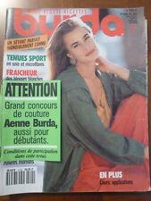 MAGAZINE BURDA AVRIL 1991