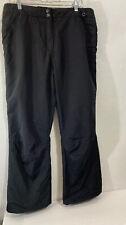 Womens Obermeyer Black Waterproof Hydro Block Snowboard Snow Ski Pants 14