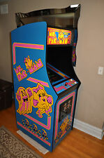 Ms. Pac Man Video Arcade Game by Bally Midway - (Ms. PAC-MAN RESTORED!)