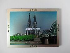 Cologne Cathedral Cologne Premium Souvenir Magnet, Germany, Laser Optics